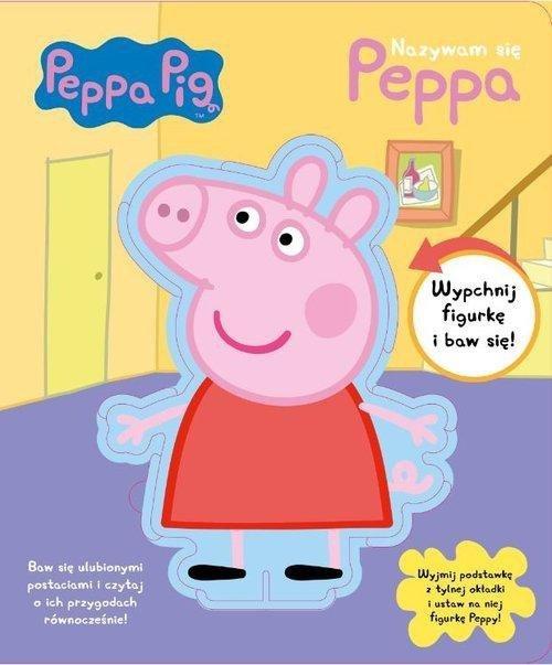 Świnka Peppa Nazywam się Peppa (z figurką)