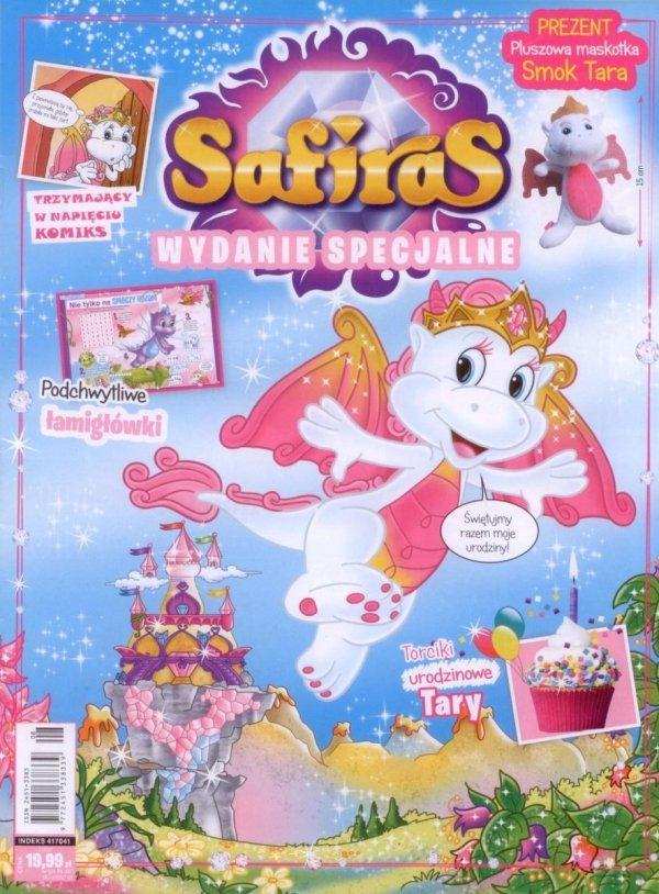 Safiras Wydanie specjalne 2/2017 Pluszowa maskotka Smok Tara