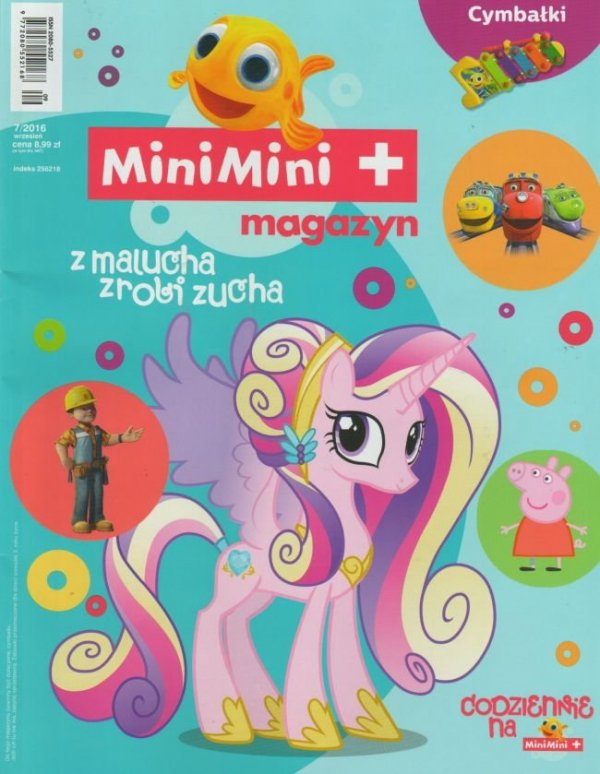 MiniMini+ magazyn 7/2016 + Cymbałki Rybki MiniMini