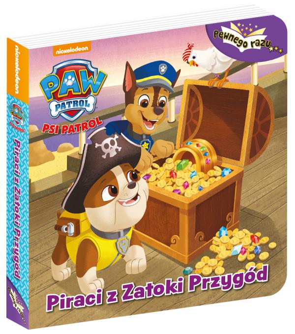 Psi Patrol Pewnego razu… 1 Piraci z Zatoki Przygód