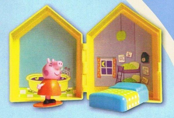 Świnka Peppa Edycja limitowana MiniŚwiat + domek Peppy