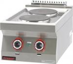 Kuchnia elektryczna /2 płyty/  400x700x280 mm  KROMET 700.KE-2 700.KE-2