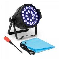 Reflektor LED - 24 x 10 W - RGBW CON.LP-24/10/RGBWA SINGERCON 10110234