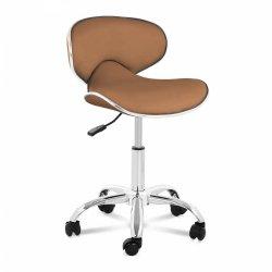 Krzesło kosmetyczne Munich - cappuccino PHYSA 10040393 PHYSA MUNICH CAPPUCCINO