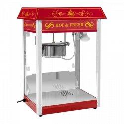 Maszyna do popcornu - czerwona - amerykański design