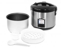 Urządzenie do gotowania ryżu z funkcją gotowania na parze - 1,8 l HENDI 240410 240410