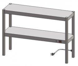 Nadstawka grzewcza dwupoziomowa ENG 20 o wymiarach 1000X400 EGAZ ENG-20-1000X400X600 ENG 20 1000X400X600