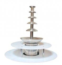 Podświetlany dwupoziomowy podest do fontann czekoladowych COOKPRO 120060001 120060001