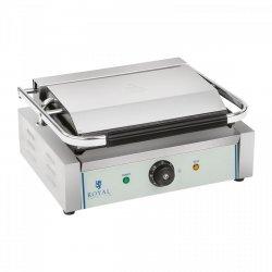 Grill kontaktowy - 2200 W - ryflowany ROYAL CATERING 10010245 RCKG-2200-G