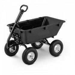 Wózek ogrodowy - 550 kg - uchylny - 150 l HILLVERT 10090175  HT-Q.BASS-550