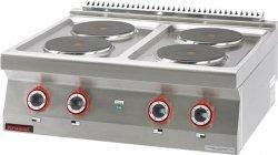 Kuchnia elektryczna /4 płyty/  800x700x280 mm KROMET 700.KE-4 700.KE-4
