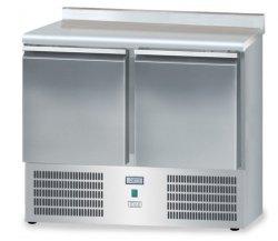Stół mroźniczy z drzwiami o pojemności 2x85l 950x700x850 DM-S-95044.0.0 700 DORA METAL DM-S-95044.0.0 DM-S-95044.0.0 700