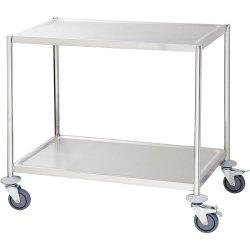 Wózek kelnerski 3-półkowy płaski bez rączek STALGAST 661050 661050