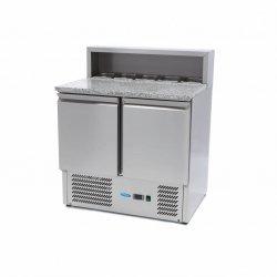2-drzwiowy stół chłodzący do pizzy Maxima 285 L MAXIMA 09400200 09400200