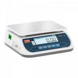 Waga sklepowa - 15 kg / 5 g - 21 x 28 cm - legalizacja TEM 10200017 TSRP+LCD15T-B1