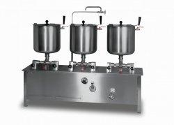 Komplet trzech kotłów warzelnych elektrycznych przechylnych o pojemności 3x 30l ZE-6 LOZAMET ZE-6 ZE-6