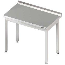 Stół przyścienny bez półki 500x600x850 mm skręcany STALGAST 980016050 980016050