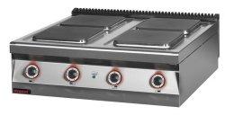 Kuchnia elektryczna /4 płyty/  900x900x280 mm KROMET MAR.900.KE-4* MAR.900.KE-4*