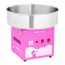 Maszyna do waty cukrowej - 52 cm - różowa ROYAL CATERING 10011083 RCZK-1200-R