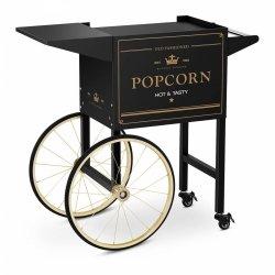 Wózek do popcornu - 51 x 37 cm - czarno-złoty ROYAL CATERING 10011103 RCPT-BGWG-1