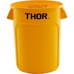 Pojemnik uniwersalny na odpadki, thor, żółty, v 120 l STALGAST 068125 068125