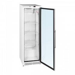 Chłodziarka - 391 l - podwójne drzwi - szkło hartowane ROYAL CATERING 10010916 RCGK-W400
