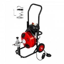 Przepychacz do rur - 390 W - Ø 25 - 125 mm MSW 10060350 MSW-DRAIN CLEAN 23E