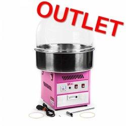 OUTLET | Maszyna do waty cukrowej - 52 cm - pokrywa ROYAL CATERING 10010085 RCZK-1200E