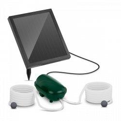 Pompa solarna do oczka wodnego - 200 l/h - 2 kamienie napowietrzające - bateria UNIPRODO 10250176 MSW-AVL12-SET