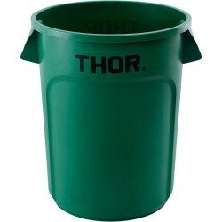 Pojemnik uniwersalny na odpadki, thor, zielony, v 120 l STALGAST 068127 068127