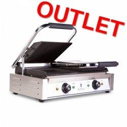 OUTLET | Grill elektryczny kontaktowy podwójny 2x 1800W ROYAL CATERING 10010309