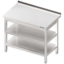 Stół przyścienny z 2-ma półkami 400x600x850 mm spawany STALGAST 980066040S 980066040S