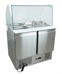 Stół chłodniczy sałatkowy nierdzewny SCHS - 2 REDFOX 00019427 SCHS - 2