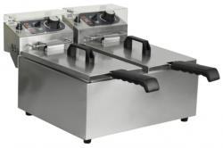 Frytownica elektryczna 2-komorowa 6+6 litrów INVEST HORECA EF-062