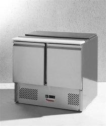 Stół chłodniczy sałatkowy 2-drzwiowy z pokrywą uchylną HENDI 232804 232804