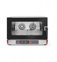 Piec konwekcyjno parowy 4 GN1/1 lub 4x 600x400 mm elektryczny sterowanie elektroniczne REVOLUTION 227770 227770