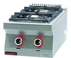 Kuchnia gazowa /2 palniki/  450x900x280 mm KROMET 900.KG-2 900.KG-2