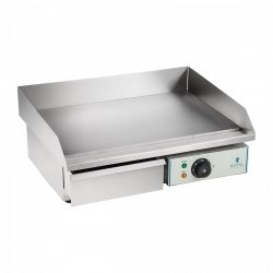 Płyta grillowa - 55 cm - gładka - 3000 W ROYAL CATERING 10010250 RCEG-55