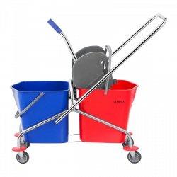 Wózek do sprzątania - 2 x 24l Ulsonix 10050164 UNICLEAN 3