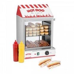 Podgrzewacz do hot dogów - 200 parówek / 50 bułek ROYAL CATERING 10010423 RCHW 2000