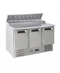 Stół chłodniczy sałatkowy 3- drzwiowy z nadstawą HENDI 236239