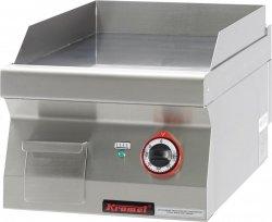 Płyta grillowa gładka chromowana 400 mm 4,8kW  KROMET 700.PBE-400G LINIA 700