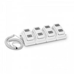 Włącznik nożny dla łóżek - dla 4 silników PHYSA 10040289 PHY-FP-3