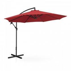 Parasol ogrodowy wiszący - Ø300 cm - bordowy UNIPRODO 10250086 UNI_UMBRELLA_R300BO