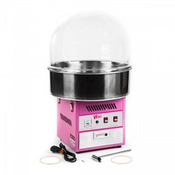 Maszyna do waty cukrowej - 52 cm - pokrywa ROYAL CATERING 10010085 RCZK-1200E
