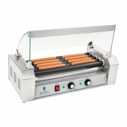 Grill rolkowy - 5 rolek - teflon ROYAL CATERING 10010469 RCHG-5T