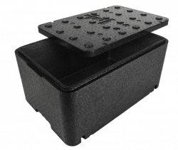 POJEMNIK TERMOIZOLACYJNY 48L GN1/1 250 MM TERMOBOX INVEST HORECA FB.250 black (1 GN) FB.250 black (1 GN)