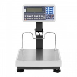 Waga sklepowa - 15 kg (5 g) / 30 kg (10 g) - legalizacja TEM 10200032 BE2CA035X040030-B1