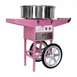 Maszyna do waty cukrowej - 52 cm - wózek ROYAL CATERING 10010138 RCZC-1200-W