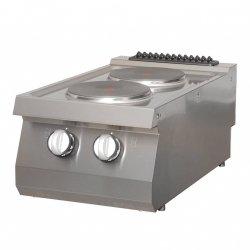 Kuchenka elektryczna Maxima 700 2 płyty 40 x 70 cm MAXIMA 09395001 09395001